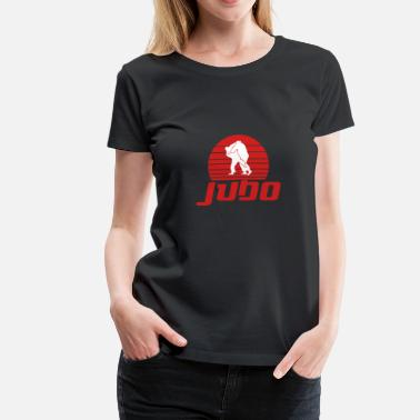 Judo Tournament Judo martial arts fighter Japan defense - Women's Premium T-Shirt