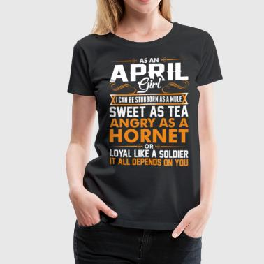 April Girl Sweet As Tea - Women's Premium T-Shirt