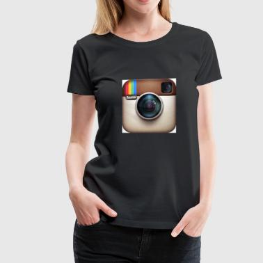 Instagram Photography Shirt - Women's Premium T-Shirt