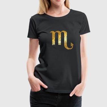 Zodiac Sign Scorpio – The Sign of Scorpio - Women's Premium T-Shirt