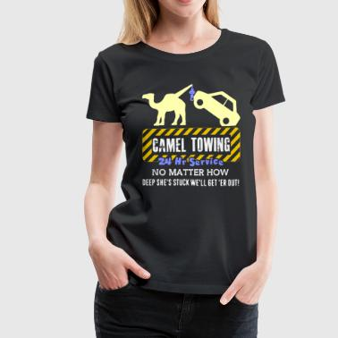 Towing CAMEL TOWING TEE SHIRT - Women's Premium T-Shirt