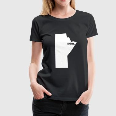 from manitoba - Women's Premium T-Shirt