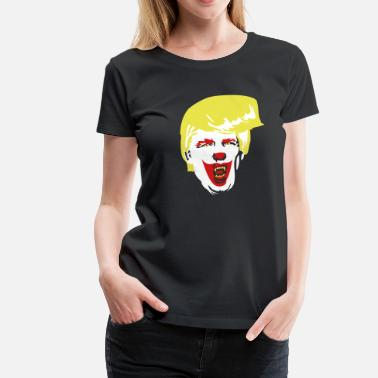 Trump Clown Evil Clown Trump LRG - Women's Premium T-Shirt