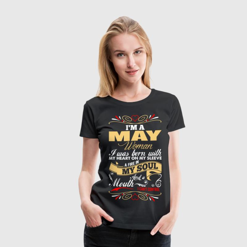 Im A May Woman - Women's Premium T-Shirt