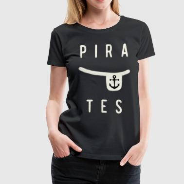 Pirates Eye Patches - Women's Premium T-Shirt