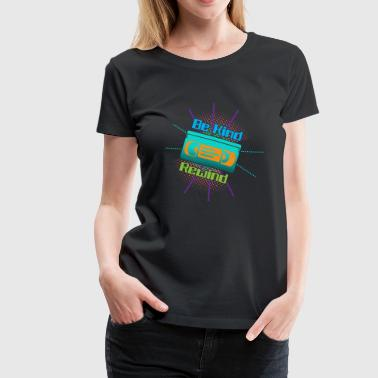 Funny VHS VCR Vintage 90s 80s Shirt Gift - Women's Premium T-Shirt