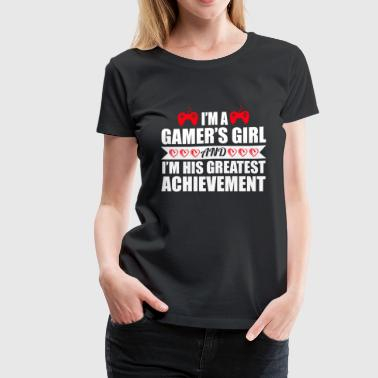 Gamer's Girl - Women's Premium T-Shirt