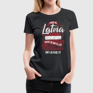 Latvia Gift Country Forest Beach Baltic Sea - Women's Premium T-Shirt