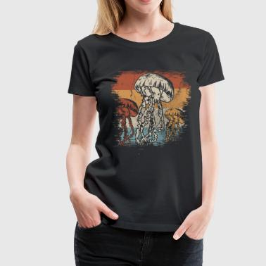 Jellyfish Ocean Sea Creature Gift Animal - Women's Premium T-Shirt