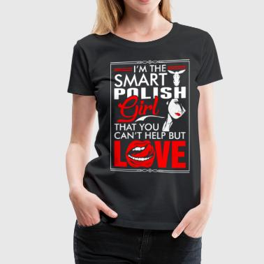 Polish Girl Love - Women's Premium T-Shirt