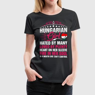 Cant Control Hungarian Girl Cant Control - Women's Premium T-Shirt