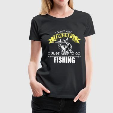 Horny Man Fishing - Fisherman - Gift - Funny - Women's Premium T-Shirt
