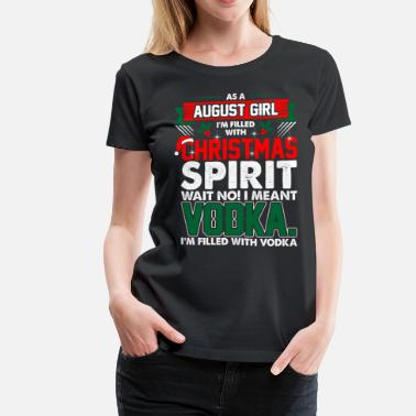 August Girl August Girl Christmas Spirit - Women's Premium T-Shirt