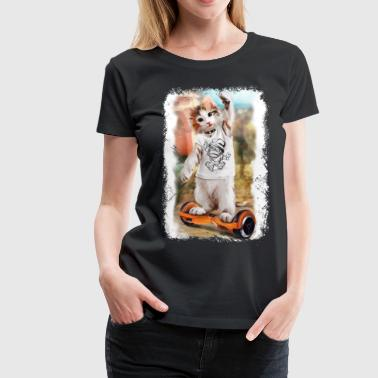 Cool Enjoyable Cat Tshirt - Women's Premium T-Shirt