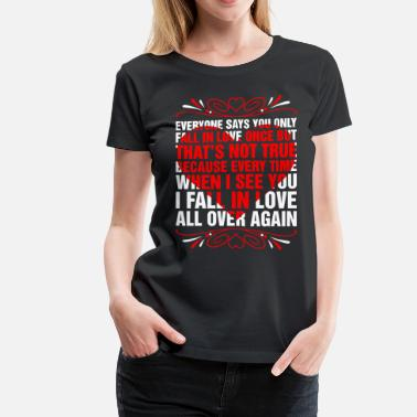 Legends Fall I Fall In Love - Women's Premium T-Shirt