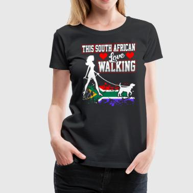This South African Love Walking - Women's Premium T-Shirt