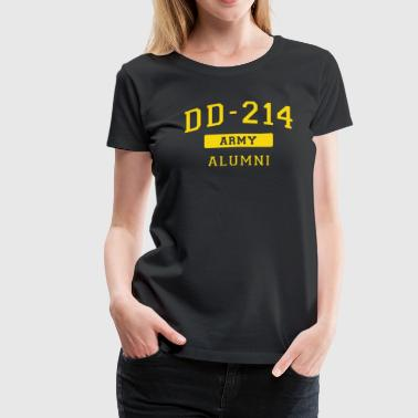 US Army Shirt Veteran T Shirt Proud DD214 Alumni - Women's Premium T-Shirt