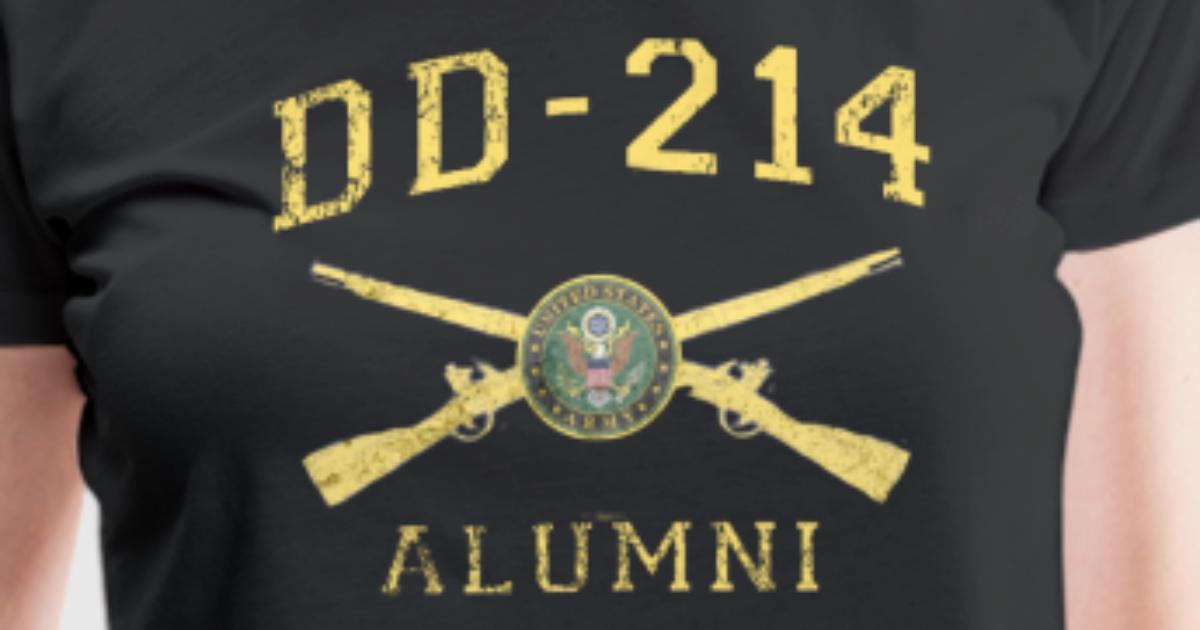 Us Army Shirt Infantry Dd214 T Shirt By Spreadshirt