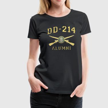 Dd214 Apparel US Army Shirt Infantry DD214 T Shirt - Women's Premium T-Shirt