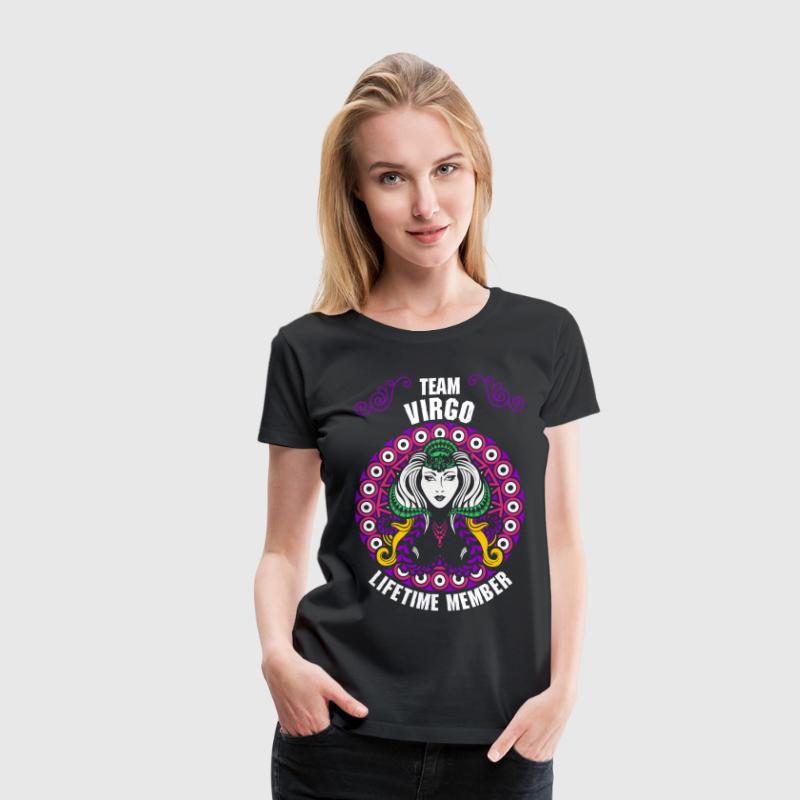 Team Virgo Lifetime Member - Women's Premium T-Shirt