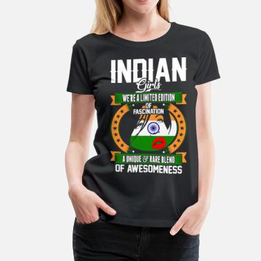 Indian Girl Indian Girls Of Awesomeness - Women's Premium T-Shirt