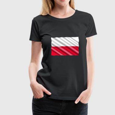 Poland Flag - Women's Premium T-Shirt