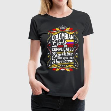 Colombian Girls Are Completed Sunshine - Women's Premium T-Shirt