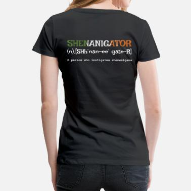 Irish Bar Shenanigator - Women's Premium T-Shirt