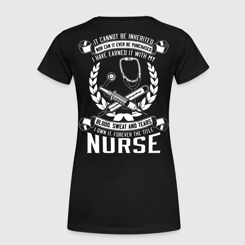 Nurse pride, registered nurse, I Love - Women's Premium T-Shirt