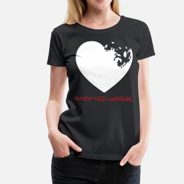Sayings Appaloosa Appaloosa Heart - Women's Premium T-Shirt