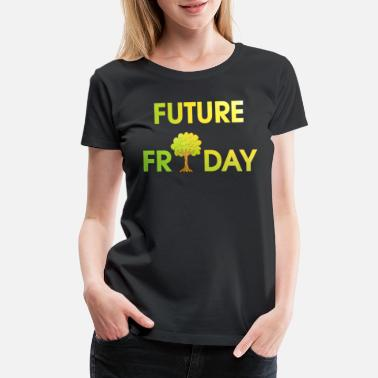 Protester Future Friday Environment Protest ecology - Women's Premium T-Shirt