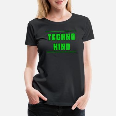 Ravens Techno Kind Rave Music Dance - Women's Premium T-Shirt