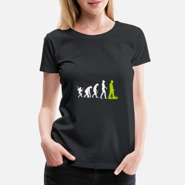 Nature Conservation Vegan animal welfare environment gift evolution - Women's Premium T-Shirt