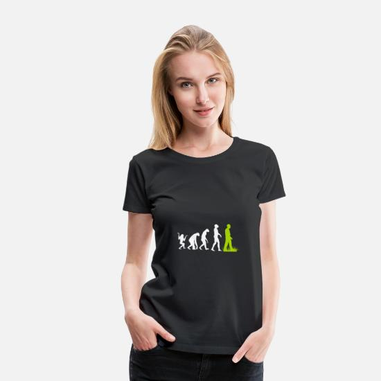 Animal T-Shirts - Vegan animal welfare environment gift evolution - Women's Premium T-Shirt black