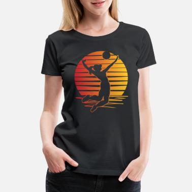 Beach Volleyball Beach Volleyball - Women's Premium T-Shirt
