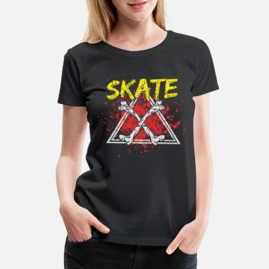 Deck Skateboard Youth Sport Gift Idea - Women's Premium T-Shirt