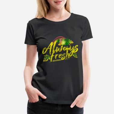 Fruit Salad Vegan vegetarian gift idea - Women's Premium T-Shirt