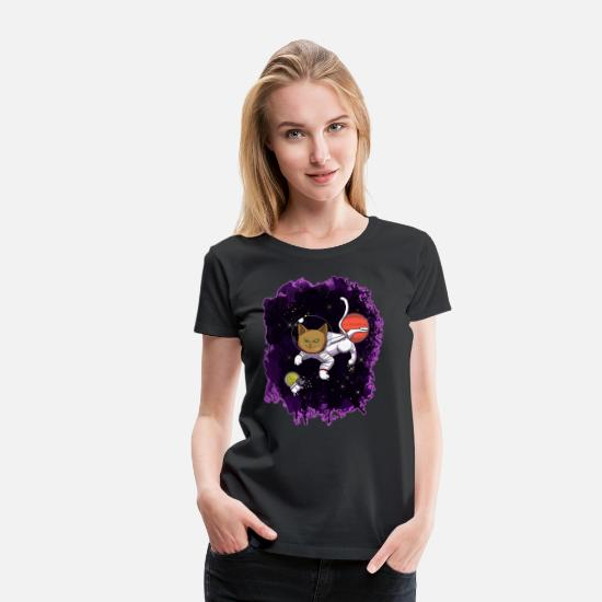 Kitten T-Shirts - Hangover for mice - Women's Premium T-Shirt black