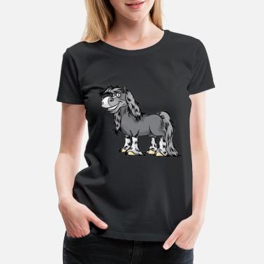 Cold Blood HAPPY HORSE Thoroughbred Lipizzan Horses Pony - Women's Premium T-Shirt