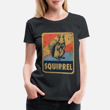 Forest Dweller Squirrel - Women's Premium T-Shirt