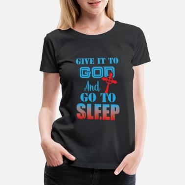 Evangelical Trust in God Coptic Orthodox Catholic T-Shirt - Women's Premium T-Shirt