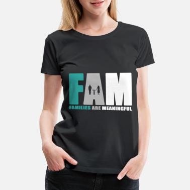 Family Day Family day Family party Family holiday crest gift - Women's Premium T-Shirt