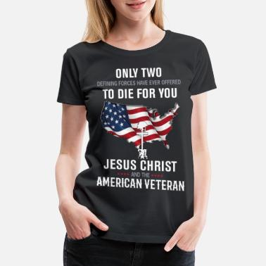 Blessed By The Best VETERAN - Women's Premium T-Shirt