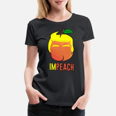 Anti-trump Anti Trump | Impeach the President | Vote For Dems Dark - Women's Premium T-Shirt