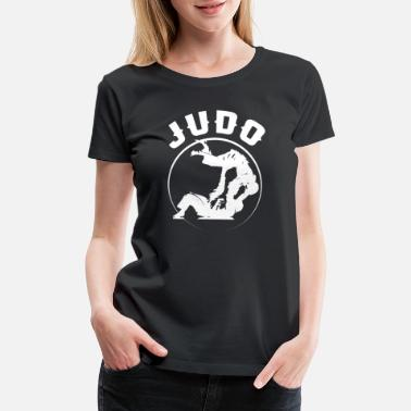 Wrestle Judo Judo Sun Master Grappling Wrestling Fight Sport - Women's Premium T-Shirt