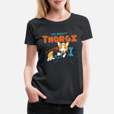 the mighly thorgi - Women's Premium T-Shirt