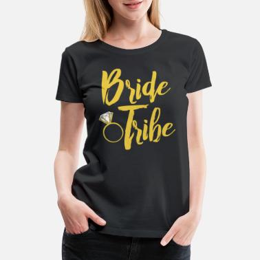 69550029f5c Women s T-Shirt. Wedding Party Crew. from  18.49. Wedding Party Bride Tribe  - Women  39 s Premium ...