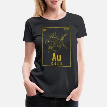 Goldfish GOLD FISH ELEMENT - Women's Premium T-Shirt
