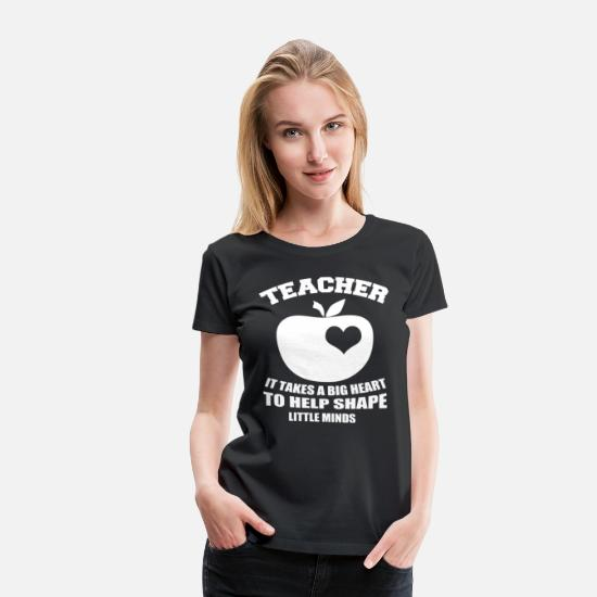 Teacher T-Shirts - TEACHER - Women's Premium T-Shirt black