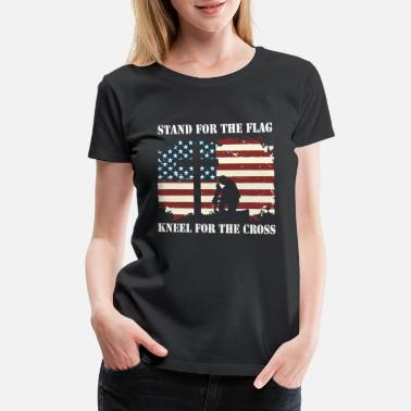 Cowboy Hat Unisex I Stand for The Flag and Kneel for The Cross-1 Vintage Jeans
